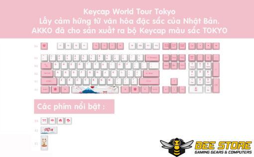 Keycap-Akko-World-Tour-Tokyo-PBT-bee-gaming-01