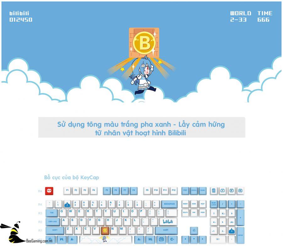 keycap-akko-bilibili-bee-gaming-6