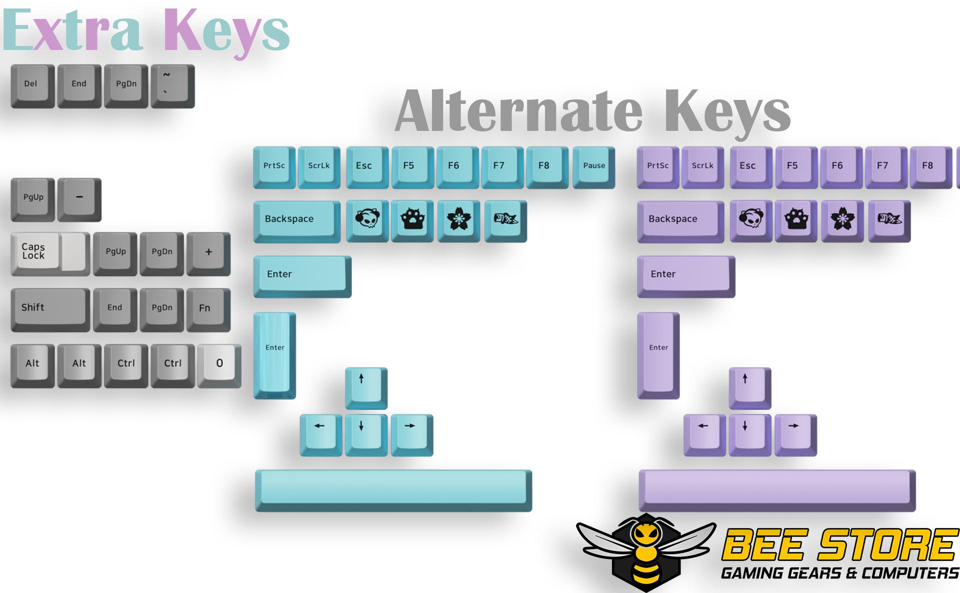 keycap-akko-Silent-beegaming-08