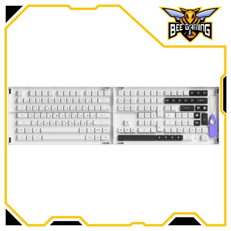 keycap-akko-BOW-Black-on-White-asa-profile-beegaming-01