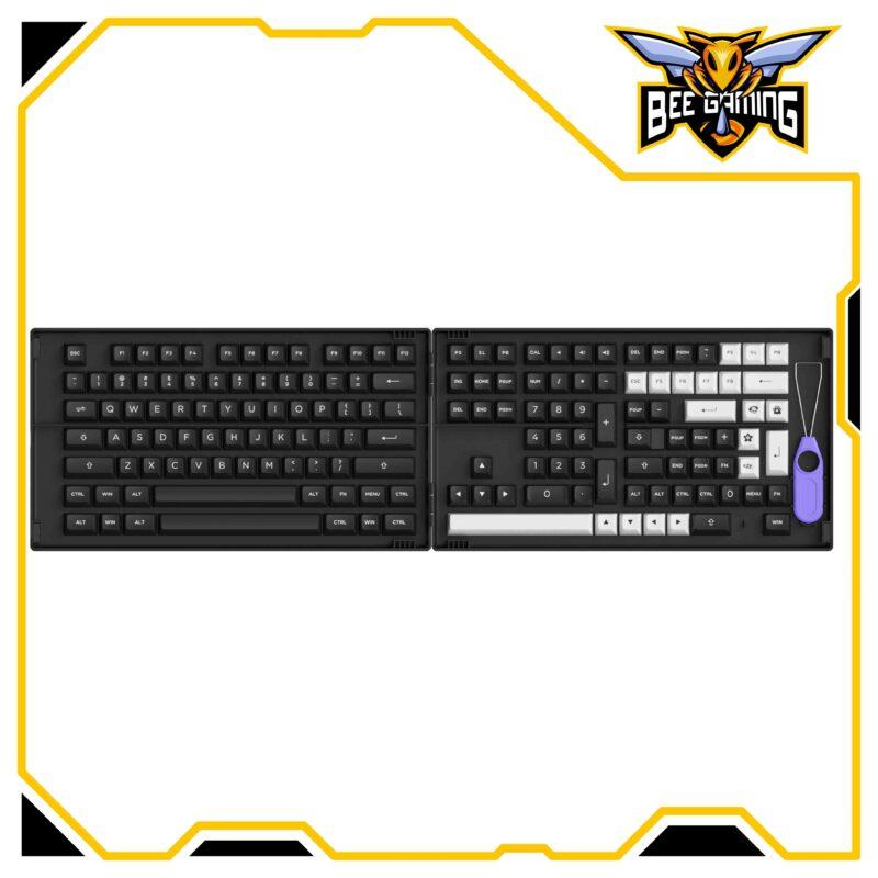 keycap-akko-WOB-White-on-Black-asa-profile-beegaming-01